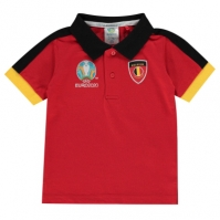 Tricouri Polo UEFA Belgium de Bebelusi