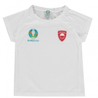 Tricouri UEFA Poland Core UEFA Poland Core de baieti Junior Bebe