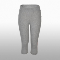 Colanti gri adidas Tights Essentials 3/4 Linear femei