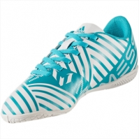 Ghete fotbal indoor adidas Nemeziz Messi 17.4 IN Junior S77208 baieti