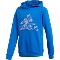 Hanorac albastru adidas Essentials Logo Baietei