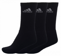 Sosete negre adidas 3-Stripes Performance Crew barbati