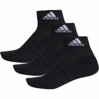 Sosete sport negre adidas 3-Stripes Performance unisex adulti