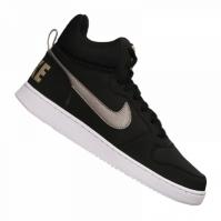 Adidasi inalti piele Nike Court Borough Mid barbati