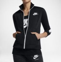 Bluza trening neagra Nike Nsw Trk Jkt Femei