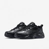 Pantofi sport piele Nike Air Monarch IV negru barbati