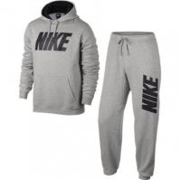 Trening gri Nike JDI Fleece Tracksuit Set 861768-063 barbati