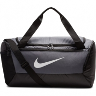 Geanta sport gri Nike Brasilia Training Duffel Bag Small BA5957 026