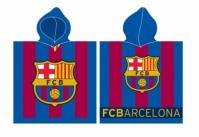 Halat de baie cu echipe fotbal FC Barcelona copii