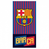 Prosop bumbac cu echipe fotbal FC Barcelona 70 x 140 cm