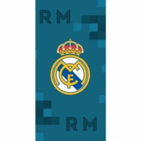 Prosop bumbac fotbal Real Madrid 70 x 140 cm