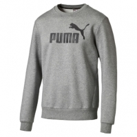 Bluza sport Puma gri Ess NO.1 Crew Sweat 838252-03 barbati
