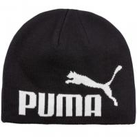 Caciula neagra Puma ESS Big Cat N1 Logo Beanie copii