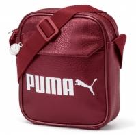 Geanta mica Puma rosie Campus Portable unisex