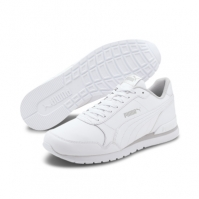 Pantofi sport piele albi Puma ST Runner v2 365277-16 barbati
