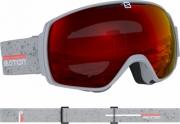 Ochelari Ski Salomon Xt One Grey matt/Univ.Mid Red Unisex