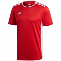 Tricou Adidas Entrada 18 rosu jersey CF1038 copii teamwear adidas teamwear