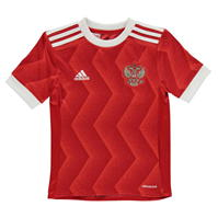 adidas Rusia Confederation Cup Shirt 2016 2017 pentru copii