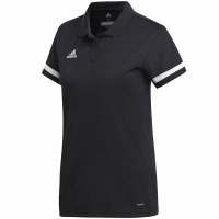 Adidas Team 19 Polo Jersey negru DW6877 pentru Femei