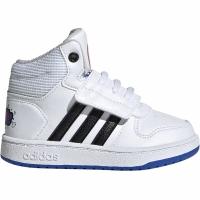 Adidasi copii Adidas Hoops Mid 20 I negru And alb EE8551