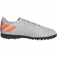 Adidasi fotbal Adidas Nemeziz 194 gazon sintetic gri EF8306 copii