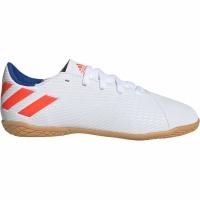 Adidasi fotbal Adidas Nemeziz Messi 194 IN alb F99928 copii