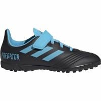 Adidasi fotbal Adidas Predator 194 H&L gazon sintetic negru And albastru G25827 pentru copii