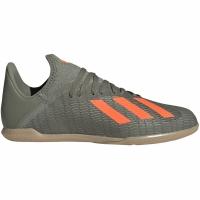 Adidasi fotbal Adidas X 193 IN verde EF8376 pentru copii