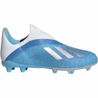 Adidasi fotbal Adidas X 193 LL FG albastru EF9114 pentru copii
