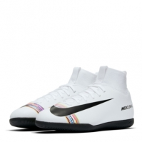 Ghete fotbal sala Nike Mercurial Superfly Club DF Junior