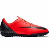 Adidasi fotbal Nike Mercurial Vapor X 12 Club GS CR7 gazon sintetic AJ3106 600 copii