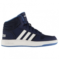 Adidasi Sport adidas Hoops Mid 2.0 High Top de baieti Junior