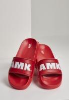 AMK Slides rosu-alb Merchcode