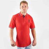 Tricouri Polo England Cricket Pique pentru Barbati
