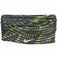 Bandana Nike Dri Fit Wrap negru-lime NRA48054 femei