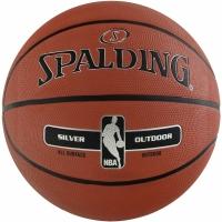 Mingi de Baschet SPALDING NBA SILVER OUTDOOR 2017