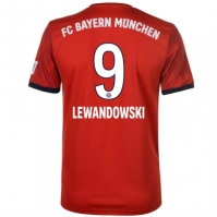 Tricou Acasa adidas Bayern Munich Robert Lewandowski 2018 2019 Junior