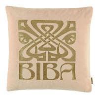 Biba Bibe Logo Cushion