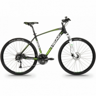 bicicleta Cross-Head I-PEAK II MEN 28 Negru/verde