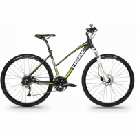 bicicleta Cross-Head I-PEAK II WOMEN 28 Negru/verde