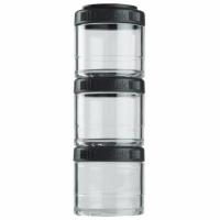 Blender Bottle GoStaks 3x100ml negru 500945
