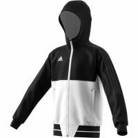 Bluza de trening adidas TIRO 17 negru and alb BQ2787 copii teamwear adidas teamwear