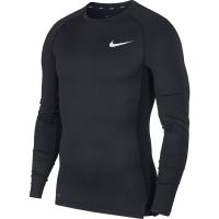 Bluza cu maneca lunga Nike NP Tight barbati negru negru BV5588 010