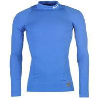 Nike Pro Warm Mock Neck base Layer Top pentru Barbati