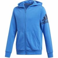 Bluza de trening Adidas BOS FZ DV0807 pentru copii