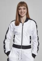 Bluza de trening Button Up pentru Femei alb-negru Urban Classics