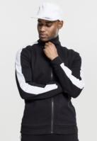 Bluza de trening doua culori Interlock negru-alb Urban Classics