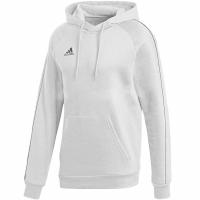 Bluza de trening Hanorac For Adidas Core 18 alb FS1891 pentru Copii copii