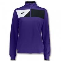 Bluza de trening Joma Crew II Purple pentru Femei