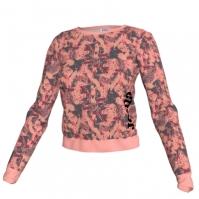 Bluza de trening Joma Printed roz-anthracite pentru Femei